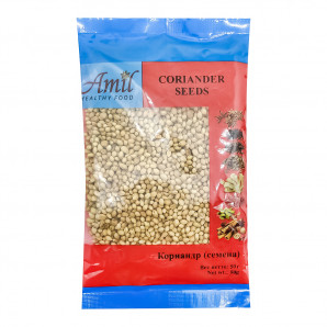 Кориандр семена (coriander seeds) Amil   Амил 50г