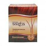 Краска для волос на основе хны каштановая (hair dye) Aasha | Ааша 60г