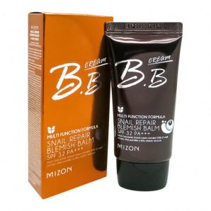 BB-крем с муцином улитки #02 (snail repair blemish balm) Mizon | Мизон 50мл