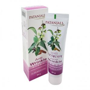 Крем для лица от морщин (Anti wrinkle cream) Patanjali   Патанджали 50г