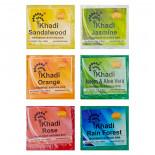 Набор натурального мыла ручной работы (handmade soap) Khadi Natural | Кади Нэйчерал 6 шт по 25г