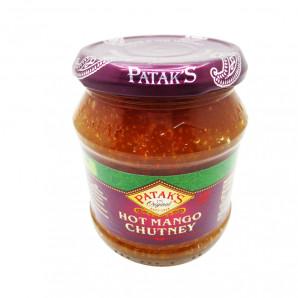 Паста чатни из манго острая (hot mango chutney) Patak's | Патакс 340г
