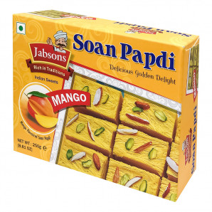 Индийская сладость Соан Папади (Soan Papdi) с манго Jabsons | Ябсонс 250г