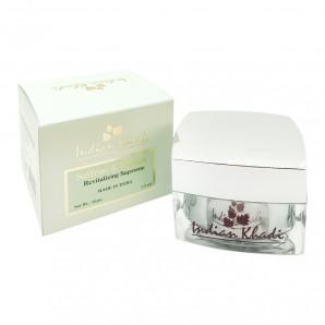 Крем от морщин для лица с шафраном и папайей (wrinkle cream) Indian Khadi | Индиан Кади 50г