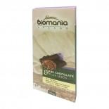 Темный шоколад с урбечем из семян льна (dark chocolate) BIOMANIA | БИОМАНИЯ 110г