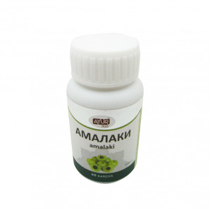 Амалаки (Amalaki) для иммунитета и омоложения Ayur Plus | Аюр Плюс 60 таб.