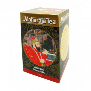 Байховый чай Ассам Магури Билл (assam tea) Maharaja Tea | Махараджа Ти 100г