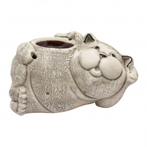 Аромалампа для эфирных масел «Кот лежит»