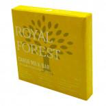 Шоколад из кэроба не обжаренного (carob chocolate) Royal Forest | Роял Форест 75г