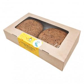 Арахисовое печенье со вкусом банана (peanut cookies) Volko Molko | Волко Молко 360г
