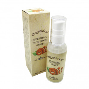 Тоник для лица освежающий с муцином улитки (face tonic) Organic Tai   Органик Тай 60мл