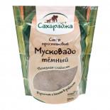 Тростниковый сахар темный Мусковадо (cane sugar) Сахараджа 450г