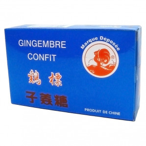 Имбирь цукат (ginger) картон Cock | Кок 150г