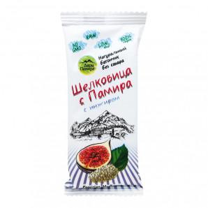 Батончик из шелковицы с инжиром «Шелковица с Памира» Дары Памира 20г