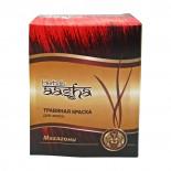 Краска для волос на основе хны махагони (hair dye) Aasha | Ааша 60г