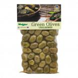 Зеленые оливки сорт Халкидики (olive) Kurtes | Куртэс 250г
