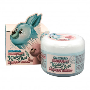Гиалуроновый крем-пудинг для лица (Moisture hyaluronic acid memory cream) Elizavecca | Элизавекка 100г