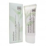 BB-крем с зеленым чаем светло-бежевый (bb cream) Innisfree | Иннисфри 40мл