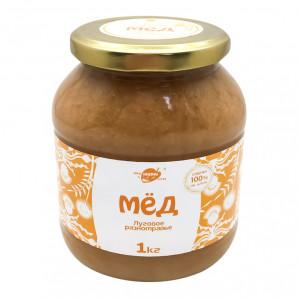 Алтайский мед луговое разнотравье (honey) LifeWay | Образ Жизни 1кг