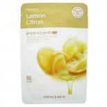 Тканевая маска для лица с экстрактом лимона (mask sheet) The FaceShop | Зэ ФэйсШоп 20г