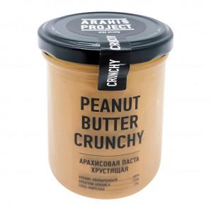 Арахисовая паста с кусочками (peanut butter) Arahis Project | Арахис Проджект 200г
