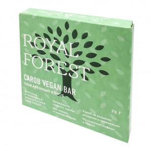 Веганский шоколад из кэроба (vegan chocolate) Royal Forest | Роял Форест 75г
