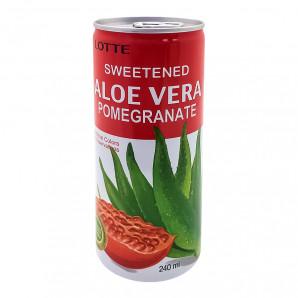 Алоэ Вера напиток со вкусом граната Lotte | Лотте 240мл