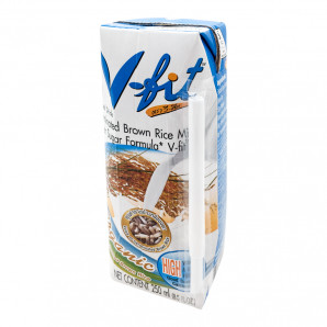 """Молоко"" из коричневого риса без сахара V-FIT 250мл"