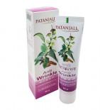 Крем для лица от морщин Anti Wrinkle Patanjali Патанджали 50г