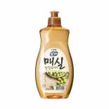 LION Chamgreen Japanese apricot 500g bottle Жидкость для мытья посуды с ароматом абрикоса