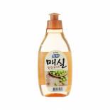 LION Chamgreen J.Apricot 300g bottle Жидкость для мытья посуды с ароматом абрикоса