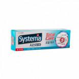 LION Systema Total TPgreenmint 120g Зубная паста с зеленой мятой для длительной свежести