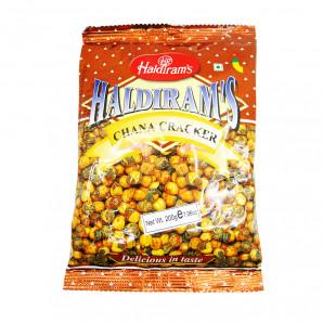Chana Cracker Haldiram`s индийская закуска «Хрустящий нутовый горох» 200мл