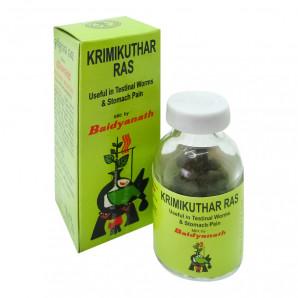 «Кримикутхар Рас» (Krimikuthar Ras) от паразитов в организме 80 таб.