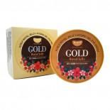 Гидрогелевые патчи с золотом и маточным молочком   Koelf Gold & Royal Jelly Eye Patch Petitfee 60шт