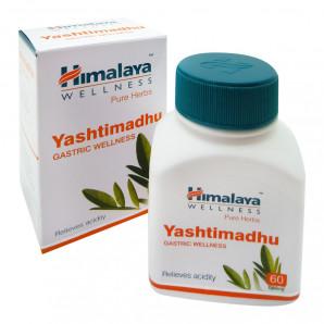 «Яшти-Мадху» (Yashti-Madhu) противовоспалительное средство Himalaya 60 таб.