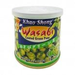 Зеленый горошек с васаби острый Khao Shong 140г